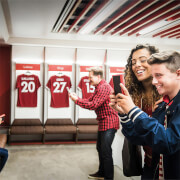 Liverpool FC Stadium Tour and Museum Entry for Two