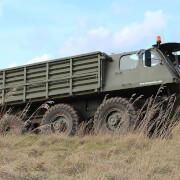 Military Vehicle Off-Road Driving Plus Stalwart Passenger Ride