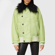 MM6 Maison Margiela Women's Short Coat - Pine - IT 40/UK 8 - Green
