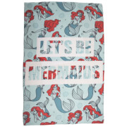 Little Mermaid Oceanic Fleece Blanket