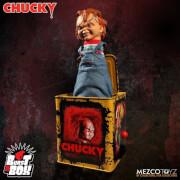 Mezco Scarred Chucky Burst A Box