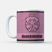 Princess Peach Retro Colour Mug