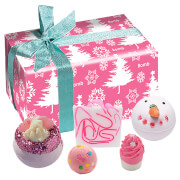 Bomb Cosmetics Dreaming of a Pink Christmas Gift Pack