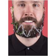 Christmas Beard Lights and Tinsel