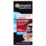 Garnier Pure Active Anti Blackhead Charcoal Mask Peel Off фото