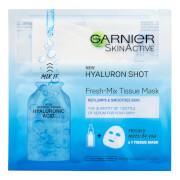 Купить Garnier Fresh-Mix Replumping Face Sheet Shot Mask with Hyaluronic Acid 33g