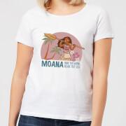 Vaiana (Moana) Read The Sea Damen T-Shirt - Weiß