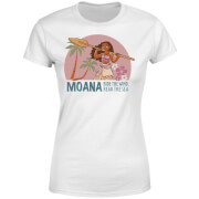 Moana Read The Sea Women's T-Shirt - White