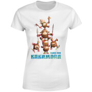 Moana Fear The Kakamora Women's T-Shirt - White