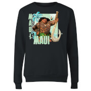 Moana Maui Women's Sweatshirt - Black