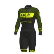 Image of Alé PRS Fango CX Skin Suit - XL - Black/Green