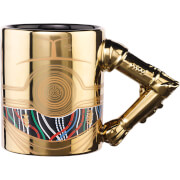 Meta Merch Star Wars C-3PO Arm Mug