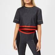 NO KA'OI Women's Hia T-Shirt - Jeans/Red - L - Black