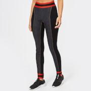 NO KA'OI Women's Aukana Leggings - Jeans/Red - L - Black