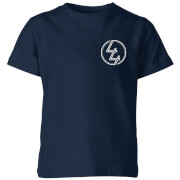 Image of How Ridiculous 44 Pocket Emblem Kids' T-Shirt - Navy - 11-12 Years - Navy