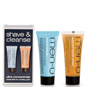 men-ü Shave and Cleanse Duo 2 x 15ml