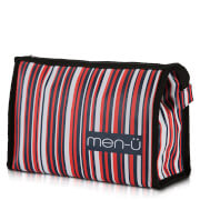 men-ü Stripes Toiletry Bag – Blue/Red/White