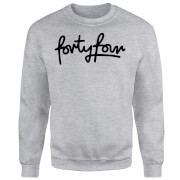 How Ridiculous Forty Four Script Sweatshirt - Grey