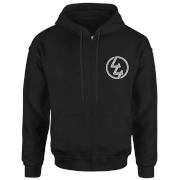 How Ridiculous 44 Pocket Emblem Zip Hoodie - Black