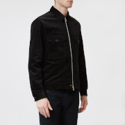 PS Paul Smith Men's Cord Zipped Jacket - Black - L - Black