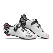 Sidi Wire 2 Carbon Air Road Shoes - White/Black - EU 41.5 - White/Black