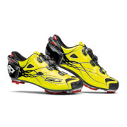 Sidi Tiger Carbon MTB Shoes – Black/Yellow Fluo – EU 41 – Black/Yellow Fluo