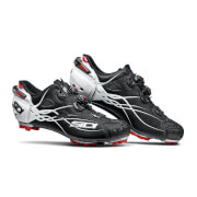 Sidi Tiger Carbon MTB Shoes - Matt Black/Gloss White - EU 43 - Matt Black/Gloss White