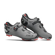 Sidi Drako 2 SRS Matt MTB Shoes – Matt Grey/Black – EU 41 – Matt Grey/Black