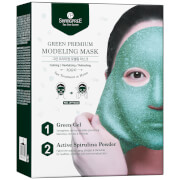 SHANGPREE Green Premium Modeling Mask with Bowl and Spatula 50ml