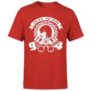 Camiseta Sonic The Hedgehog Play To Win - Hombre - Rojo