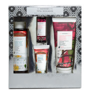 KORRES Total Indulgence Bergamot Jasmine and Japanese Rose Body Milk and Shower Gel Collection (Worth £24.00)
