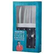 Jamie Oliver Steak Knives - Black (Set of 4)