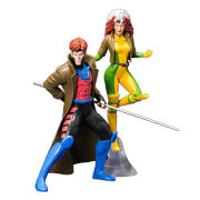Marvel Universe X-Men 1992 Gambit and Rogue ARTFX+ Statues