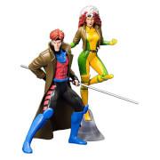 Marvel Universe X-Men 1992 Gambit and Rogue ARTFX+ Statues