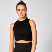 Myprotein Energy Crop Top - Black