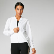 Myprotein Breathe Jacket - White - M