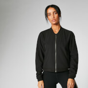 Myprotein Breathe Jacket - Black