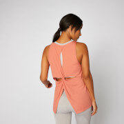 Bliss Burnout Vest - Copper Rose