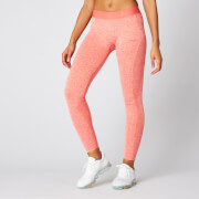 Inspire Seamless Leggings - Hot Coral