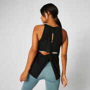 Bliss Burnout Vest - Sort