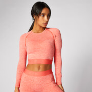 Inspire Seamless Crop Top - Koralle