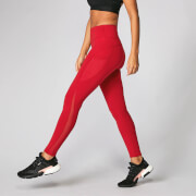 Leggings Power Mesh - Cremisi