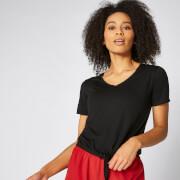 Koszulka Twist z Krótkim Rękawem - Czarna