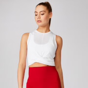 Energy Crop Top - White