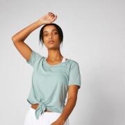 Twist Short Sleeve T-Shirt - Seafoam