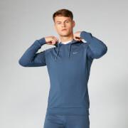 Bluza z Kapturem z Kolekcji Form - Ciemny Indygo