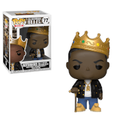 Pop! Rocks Notorious B.I.G with Crown Pop! Vinyl Figure