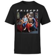 Camiseta Friends Personajes - Hombre - Negro