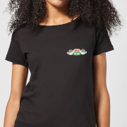 Friends Central Perk Coffee Cups Women's T-Shirt - Black