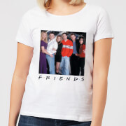 Friends Cast Pose Women's T-Shirt - White